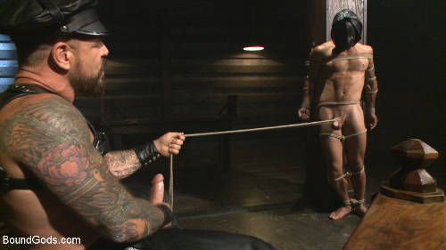 brutal gay bondage sex